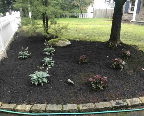 Brookfield CT mulching and gardening services